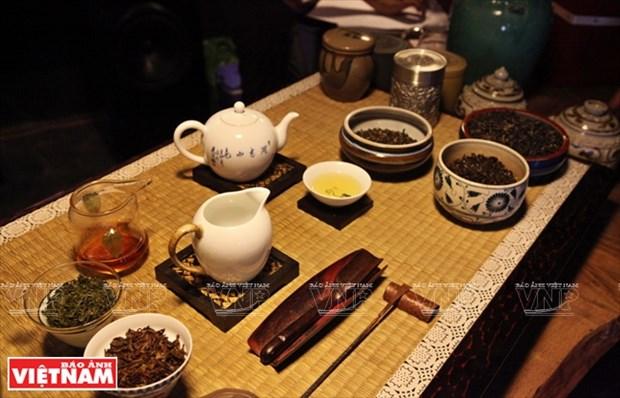 Boire du the, un plaisir esthetique des Hanoiens hinh anh 1