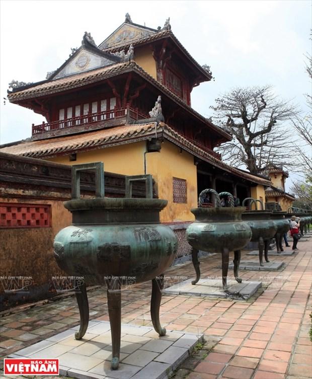 Les archipels des Spratly et Paracels sur les neuf urnes dynastiques de Hue hinh anh 1