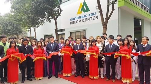Hanoi: inauguration d'un atelier de formation professionnelle de soudage hinh anh 1