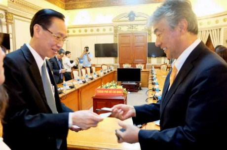 Les entreprises japonaises souhaitent cooperer avec HCM-Ville hinh anh 1