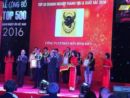 Le Top 500 des plus grandes entreprises du Vietnam hinh anh 1