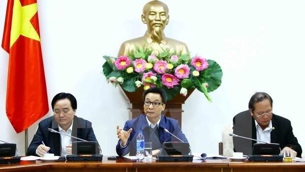 Pour ameliorer le classement du Vietnam en matiere d'e-gouvernement hinh anh 1