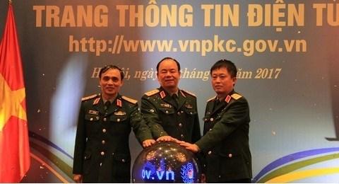 Le site web du Centre de maintien de la paix du Vietnam voit le jour hinh anh 1