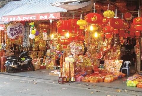 Flanerie dans les rues des objets de decoration hinh anh 2