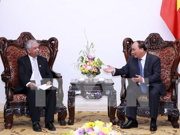Le PM recoit le nouveau coordonnateur resident des Nations unies au Vietnam hinh anh 1