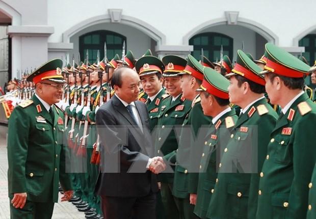 Le PM travaille avec le Departement general du renseignement du ministere de la Defense hinh anh 1