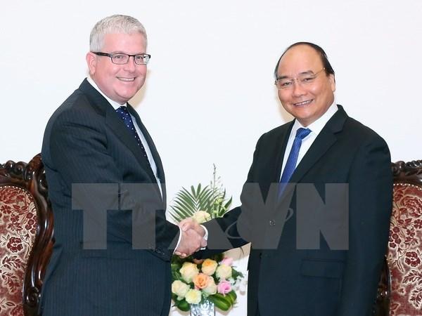 Les ambassadeurs de l'Australie et du Danemark s'engagent a contribuer au developpement du Vietnam hinh anh 1