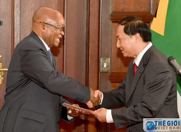 Le Vietnam reaffirme ses liens avec la Republique d'Afrique du Sud hinh anh 1