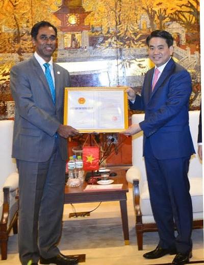Hanoi remet la licence d'investissement d'expansion a Coca-Cola Vietnam hinh anh 1