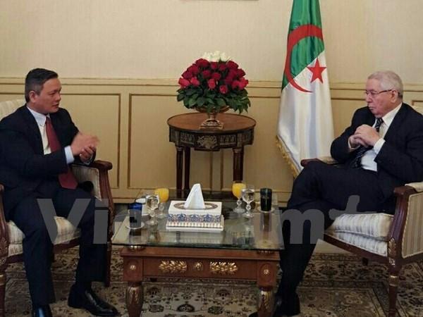 Vietnam-Algerie : renforcement des relations entre les deux organes legislatifs hinh anh 1