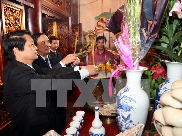 Le vestige des Rois Hung accueille plus de 10.000 touristes hinh anh 1