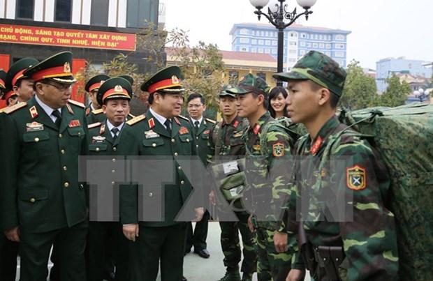 Les trois grandes lignes des affaires exterieures du ministere de la Defense en 2017 hinh anh 1