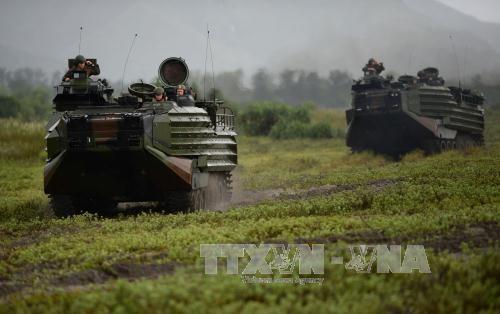Le president philippin accuse les Etats-Unis de construire des arsenaux aux Philippines hinh anh 1