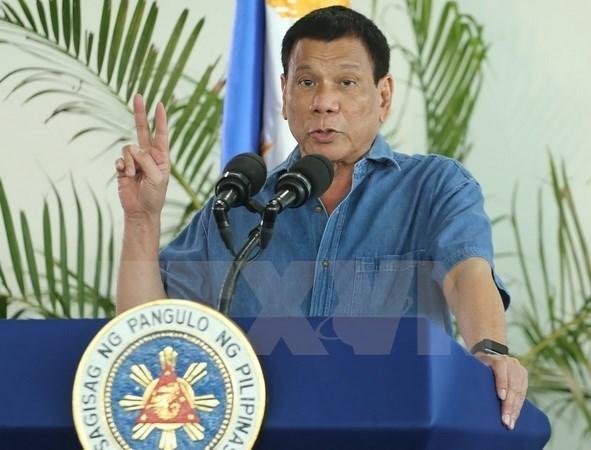 Le president philippin Rodrigo Duterte suspend la guerre contre la drogue hinh anh 1