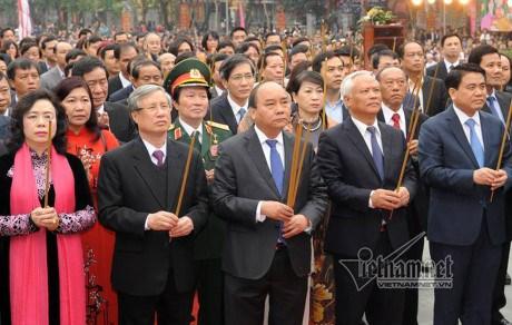 Celebration des 228 ans de la victoire de Ngoc Hoi-Dong Da hinh anh 1