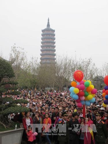 Ouverture de la Fete de la pagode Bai Dinh a Ninh Binh hinh anh 2