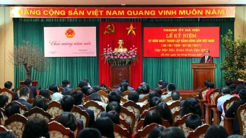 Activites en l'honneur du 87e anniversaire de la fondation du PCV hinh anh 1