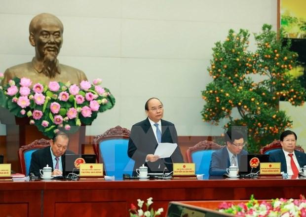 Reunion periodique du gouvernement pour le mois de janvier hinh anh 1