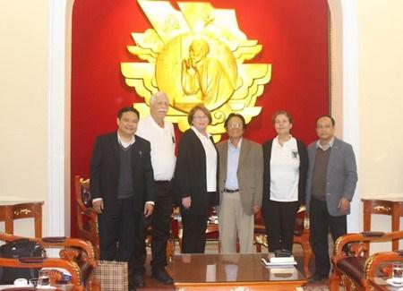 L'Association Vietnam-Etats-Unis rencontre des veterans de guerre americains hinh anh 1