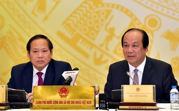 Le gouvernement continuera de perfectionner les institutions en 2017 hinh anh 1