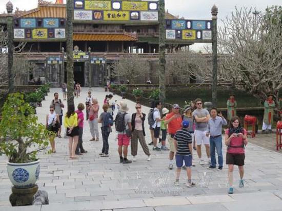 Le tourisme de Thua Thien-Hue en plein essor des le debut de l'annee hinh anh 2