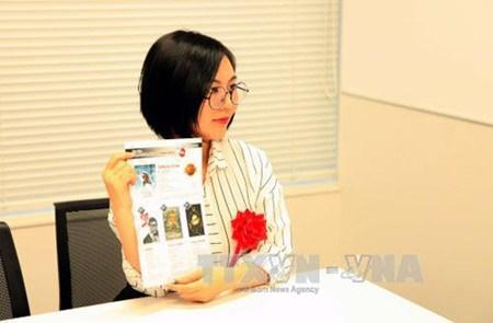Phan Cao Ha My, prix d'argent au concours international du manga hinh anh 1