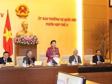 Une dizaine de reunions du comite permanent de l'AN prevue en 2017 hinh anh 1