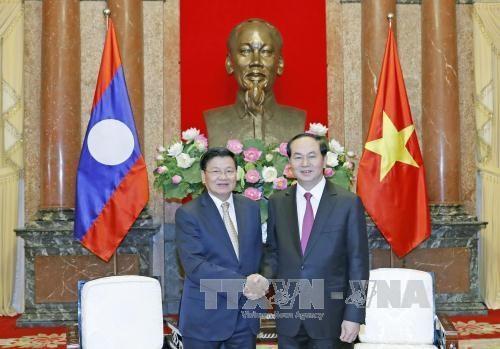 Vietnam et Laos s'engagent a mettre en oeuvre les accords conclus hinh anh 1