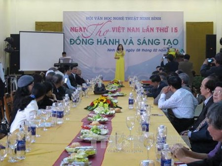 15eme edition de la Journee de la poesie vietnamienne hinh anh 1