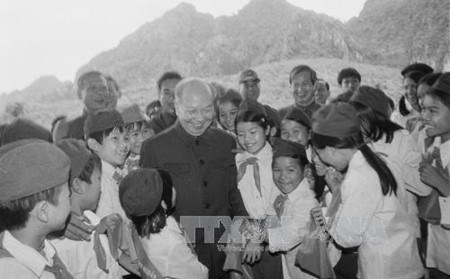 Le secretaire general Truong Chinh, un grand dirigeant du Vietnam hinh anh 1