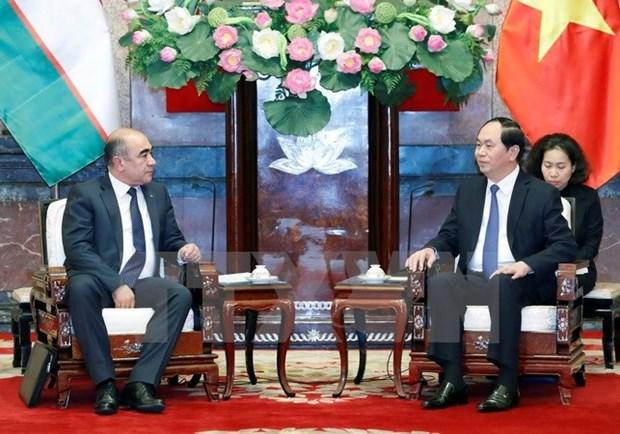 Le Vietnam et l'Ouzbekistan devraient exploiter au mieux leur potentiel de cooperation hinh anh 1