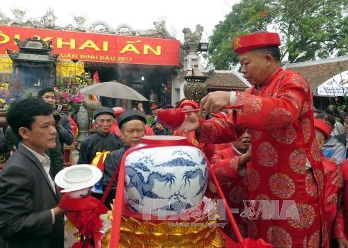Ouverture de la Fete du Temple des rois Tran a Thai Binh hinh anh 2