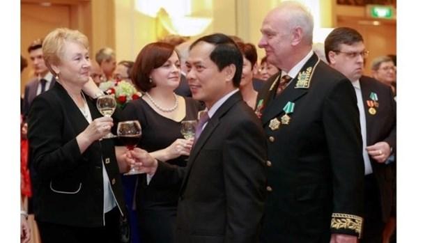 La Journee traditionnelle du service diplomatique de la Russie celebree au Vietnam hinh anh 1