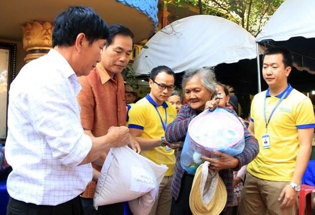 Le Tet Nguyen Tieu fete au Laos hinh anh 1