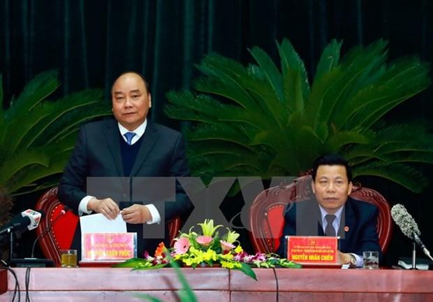 Le PM exhorte Bac Ninh a devenir l'une des villes les plus competitives et creatives en Asie hinh anh 1