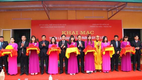 Exposition de cartes et d'archives sur Hoang Sa et Truong Sa a Thai Nguyen hinh anh 1