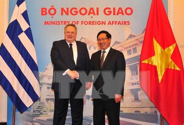 La Grece souhaite renforcer la cooperation multiforme avec le Vietnam hinh anh 1