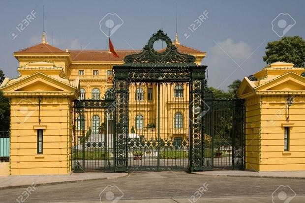 Le palais presidentiel de Hanoi parmi les meilleurs palais du monde hinh anh 1