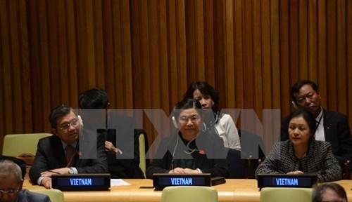 L'ONU apprecie le role du Vietnam en son sein et au sein de l'UIP hinh anh 1