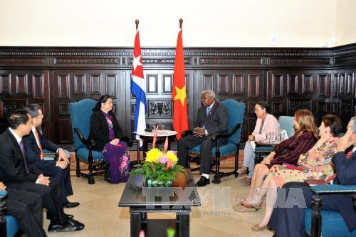 Vietnam et Cuba approfondissent leur relations de cooperation legislative hinh anh 1