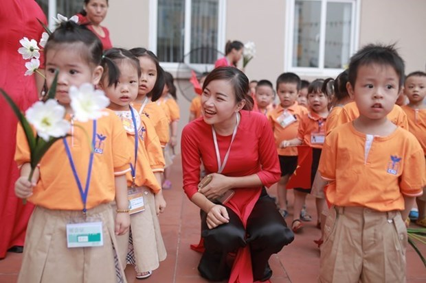 Soc Trang permet aux enfants de cinq ans d'acceder a l'education prescolaire hinh anh 1