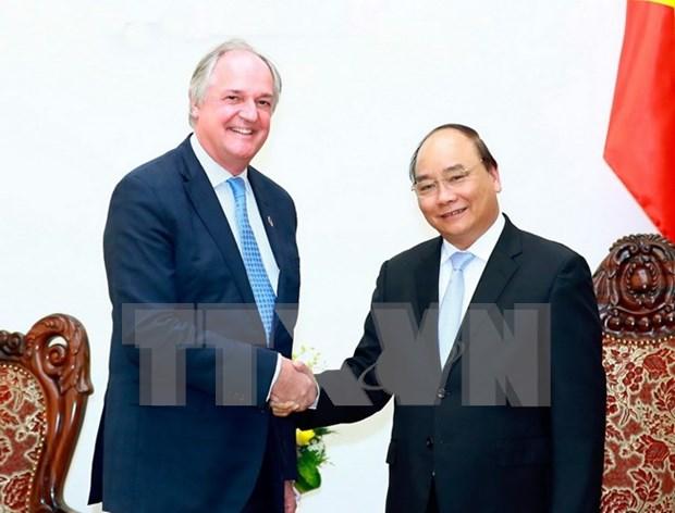 Le PM salue les activites du groupe Unilever au Vietnam hinh anh 1
