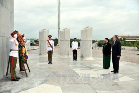 Activites de la vice-presidente permanente de l'AN du Vietnam a Cuba hinh anh 2