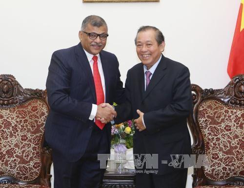Vietnam-Singapour : cooperation judiciaire approfondie et satisfaisante hinh anh 1