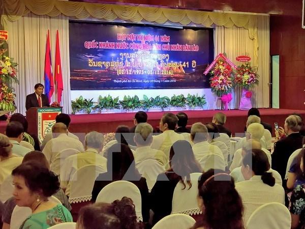 Le Laos loue les activites de l'Association d'amitie Vietnam-Laos hinh anh 1