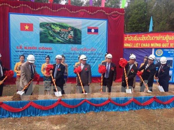 Le Vietnam soutient l'agriculture et la sylviculture du Laos hinh anh 1