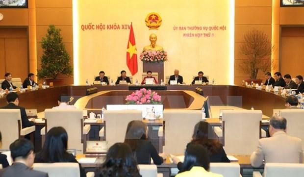 Ouverture de la 7eme session du comite permanent de l'AN hinh anh 1