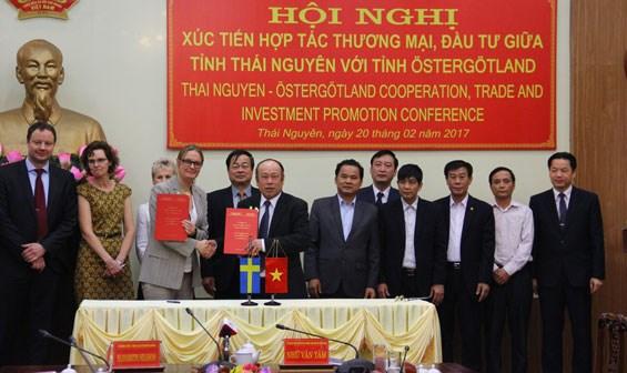 Les entreprises suedoises souhaitent investir a Thai Nguyen hinh anh 1
