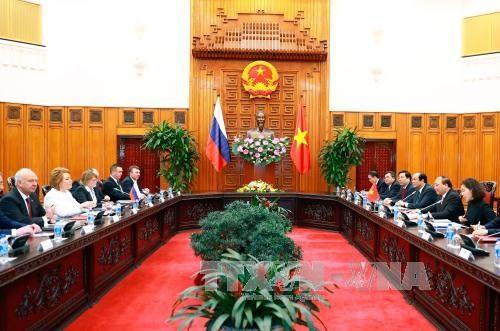 Dynamiser les relations de partenariat strategique integral Vietnam-Russie hinh anh 1
