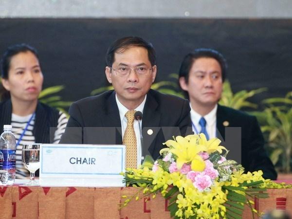 Le Vietnam appelle l'APEC a assumer un leadership mondial hinh anh 1